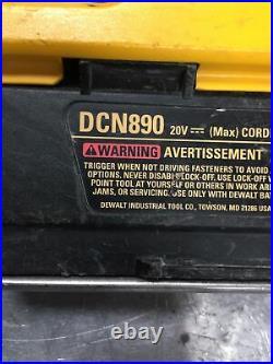 DeWalt Cordless Concrete Nailer DCN890 20V (Tool Only)