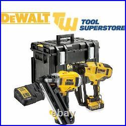 DeWalt DCK264P2-GB 18v XR Nail Gun Kit 1st & 2nd Fix Nailer Twin Pack Cordless