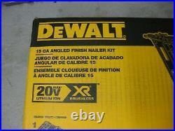 DeWalt DCN650D1 Finish Nailer 20-Volt Max Lithium-Ion Cordless 15-Gauge NEW