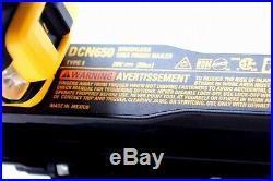 DeWalt DCN650 20V MAX XR 15 Gauge Cordless Angled Finish Nailer