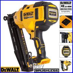 DeWalt DCN660N 18V XR Brushless 2nd Fix Finish Nailer + Free Tape 5M/16ft
