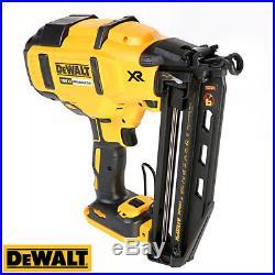 DeWalt DCN660N 18V XR Brushless 2nd Fix Finish Nailer With 2 x 4ah Batteries