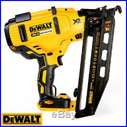 DeWalt DCN660N 18V XR Brushless 2nd Fix Nailer With 1 x 4Ah Battery, Charger