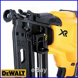DeWalt DCN660N 18V XR Brushless Cordless 2nd Fix Finish Angled Nailer Body Only