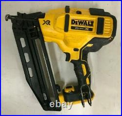 DeWalt DCN660 20V MAX 16Ga Angled Cordless Finish Nailer, V. G