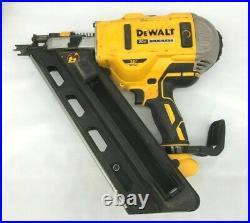 DeWalt DCN692 20V MAX Brushless Li-Ion Framing Nailer Nail Gun, VG