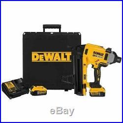DeWalt DCN891P2 20V Max 1 Magazine Cordless Concrete Nailer Kit
