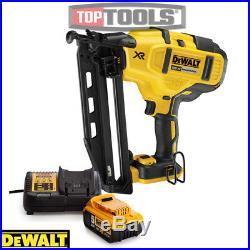 DeWalt DEWPDCN660N 18V XR Brushless 2nd Fix Nailer + 1 x 5Ah Battery & Charger