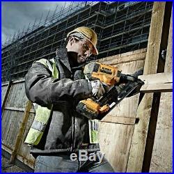 DeWalt XR DCN692N Cordless 18v Brushless 90mm Gasless Framing Nailer Bare