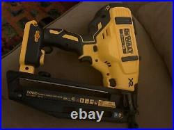 Dewalt 16 gauge xr finish nailer 20v dcn660 open box no bag