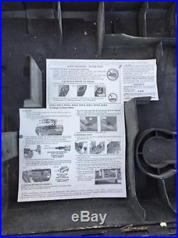 Dewalt DC616 18V Cordless 16 Ga Gauge Straight Nailgun Finish Nailer Case Manual
