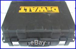 Dewalt DC628 18volt 15gage cordless trim nailer nailgun with Case Battery Charger