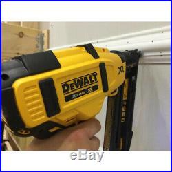 Dewalt DCN660D1 16-Guage 20-Volt 2-1/2-Inch Cordless Angled Finish Nailer