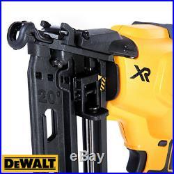 Dewalt DCN660 18V Brushless Second Fix Finish Nailer Gun + 16 Tool Storage Box