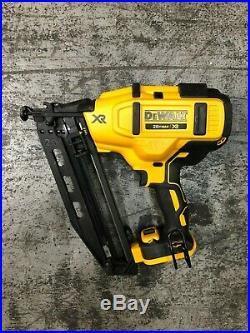 Dewalt DCN660 20V MAX 16Ga Cordless Angled Finish Nailer (Bare Tool) NEW
