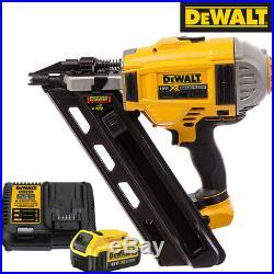 Dewalt DCN692N 18V Brushless Framing Nailer 90mm With 1 x 4.0Ah DCB182 & DCB115