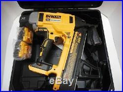 Dewalt DCN890P2 20V Brushless Cordless XR Concrete Nailer 2x5Ah Batts. FAST SHIP