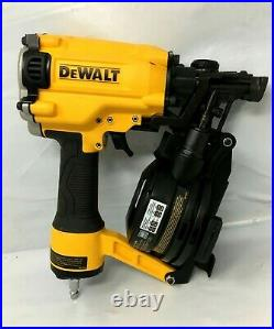 Dewalt DW45RN Pneumatic 15 Degree Coil Roofing Nailer Nail Gun, MD511