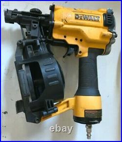 Dewalt DW45RN Pneumatic 15 Degree Coil Roofing Nailer Nail Gun VG