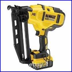 Dewalt Dck264p2-gb 18v 5.0ah Nail Gun 1st And 2nd Fix Twin Set