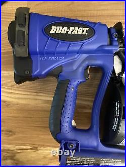 Duo-Fast Paslode DFCR175C Cordless Roofing Nailer Dewalt Nail Gun. Bearly Used