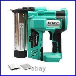 Enegitech 18 Gauge Cordless Brad Nailer/Stapler, 18V 2 in 1 18GA Nail/Staple Gun
