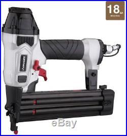Finishing Nailer Kit Pneumatic Air Nail Gun Brad Crown Stapler 3 Piece Tool Set