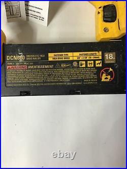 For Parts DEWALT Brushless DCN680 20V MAX XR 18 Gauge Brad Nailer Tool Only