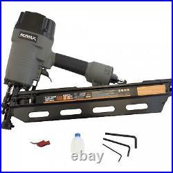 Framing Nailer Gun Pneumatic 21 Degree 3-1/2 Full Head Air Powered Strip Nail