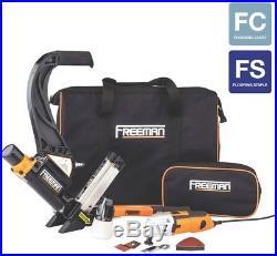 Freeman Nail Gun Flooring Nailer Pneumatic Hardwood Oscillating Multi Cutter