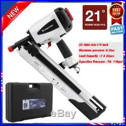 HITACH 21 Degree 2 to 3-1/2 Plastic Collated Framing Nailer Nail Gun Framer BP