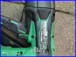 Hikoki Nr1890dc 18v Brushless 1st First Fix Nailer. With 5ah Batteries