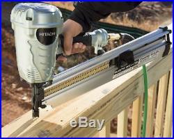 Hitachi 2 Inch to 3 1/2 Inch Plastic Collated Framing Home Nailer Nail Gun
