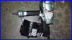 Hitachi 3-1/2 in. Coil Framing Nailer NV90AGS nail gun with warranty