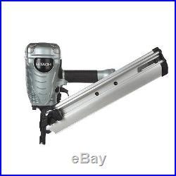 Hitachi Framing nailer nail gun clipped head nr90adS1 nail gun 30-34° with waranty