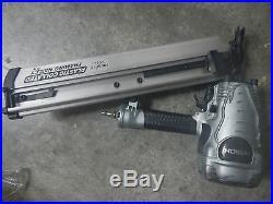 Hitachi Framing nailer nr90aes1 round head nr90aepr nail gun 20-22° 1 yr wrnty C