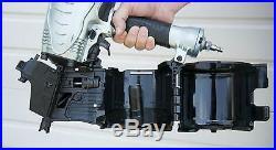Hitachi METABO HPT NV90AGS NEW 16-Degree 3-1/2 Coil Air Framing Nailer Nail Gun