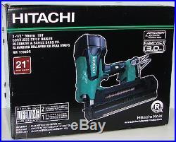 Hitachi NR1890DR 18 Volt Cordless Brushless 3-1/2 21 Degree Framing Nailer New