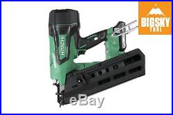 Hitachi NR1890DR 18v Brushless Full Round Head Framing Nail Gun Reconditione