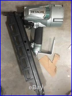 Hitachi NR83A5 3 1/4 Strip Nailer Framing Nail Gun TooL NR 83A5