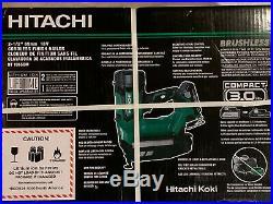 Hitachi NT1865DM 18V 3Ah 16Ga 2-1/2 in. Brushless Straight Finish Nailer Kit