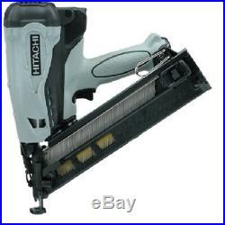 Hitachi NT65GA P9 KIT 2-1/2 15 ga Gas Angled Finish DA Nailer, NEW withwarranty