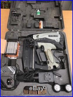 Hitachi NT65GS Gas Nailer 2nd Fix Straight Nail Gun 25-65mm, 16GA