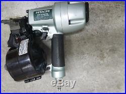 Hitachi NV65AH2 2.5 Coil Round head Pneumatic Siding Nailer Nail Gun with waranty