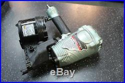 Hitachi NV 90AG(S) 3-1/2 Air Coil Framing Nailer Nail Gun Very Clean (nl)