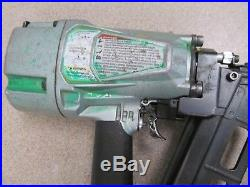 Hitachi Nr-83a5 3 1/4 Strip Nailer Round Head Framing Nail Gun