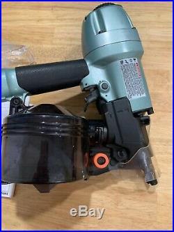 Hitachi Nv65ah2 Coil Nailer 2-1/2 Siding Nail Gun