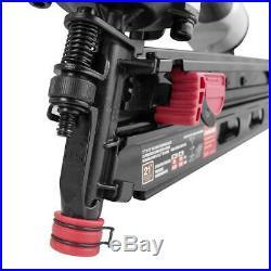Husky Pneumatic 3-1/2 in 21-Degree Air Framing Nailer Nail Gun Construction Tool