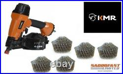 Kmr 3551 Air Coil Nailer With 1,800 50mm Conical Coil Nails