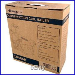Light Weight Construction Coil Nailer 250-400 Nail Load Capacity 70 120 PSI